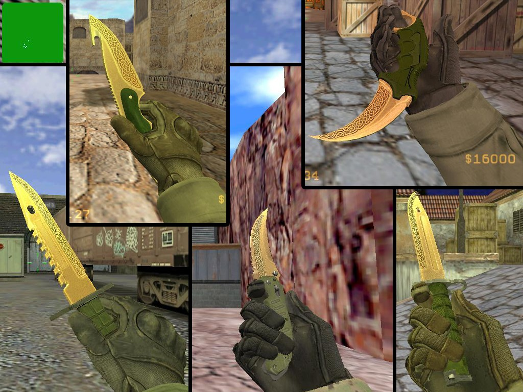 CS:GO MOD / Lore Knife Pack